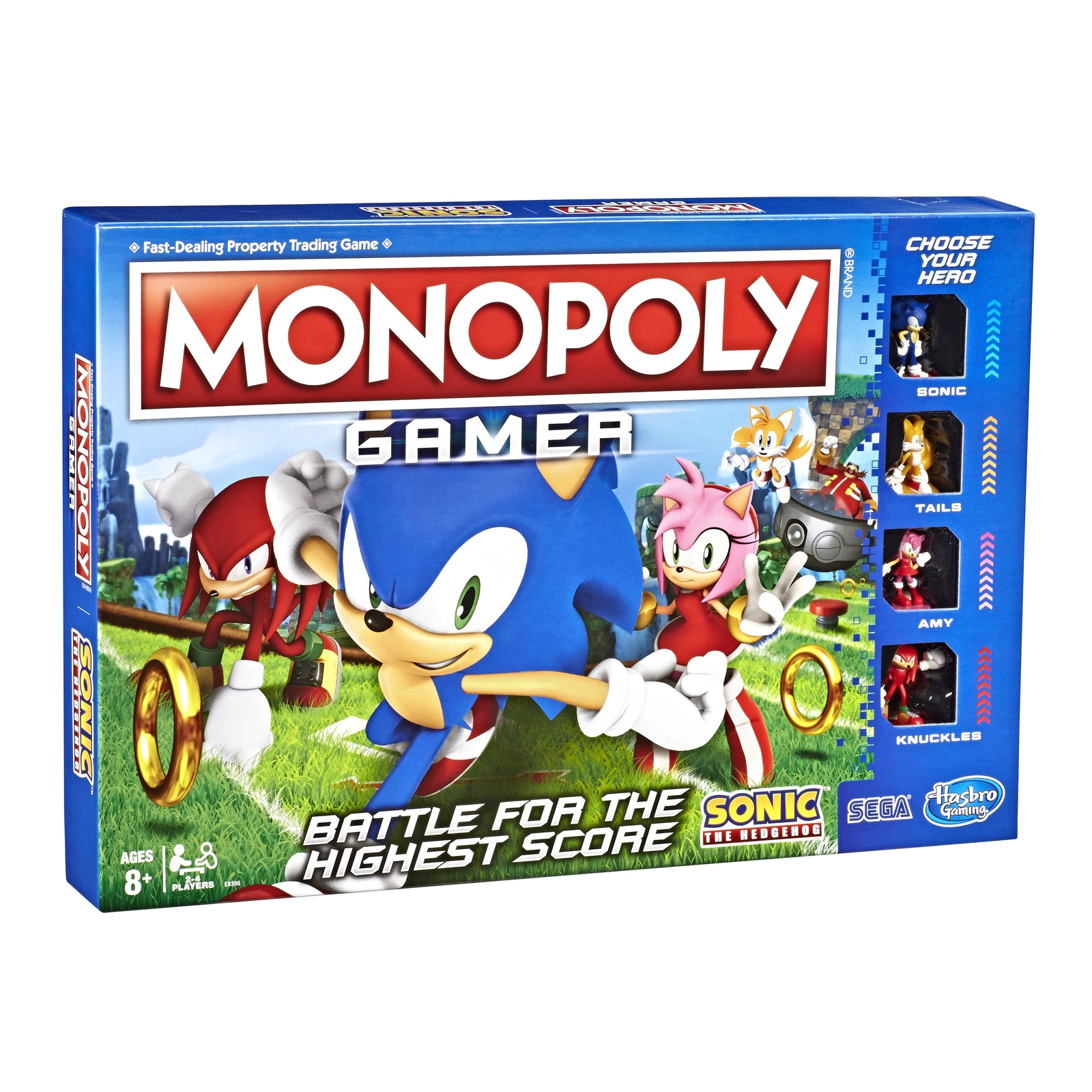 Monopoly Gamer - Sonic the Hedgehog Edition image