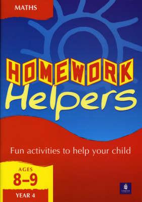Longman Homework Handbooks: Mathematics 4, Key Stage 2 by Linda Terry image