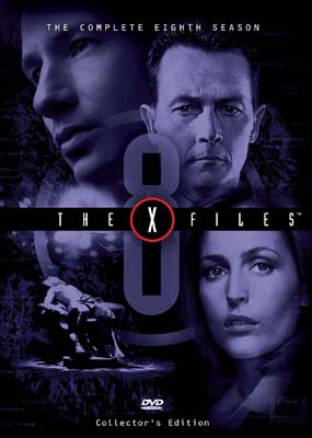 X-Files, The - Season 8 (6 Disc Set) on DVD image