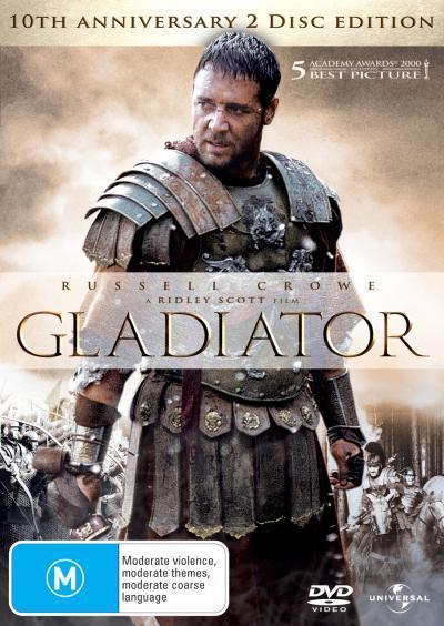 Gladiator on DVD