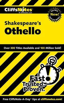 CliffsNotes on Shakespeare's Othello by Helen McCulloch image