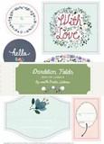 Dandelion Fields Box of Labels
