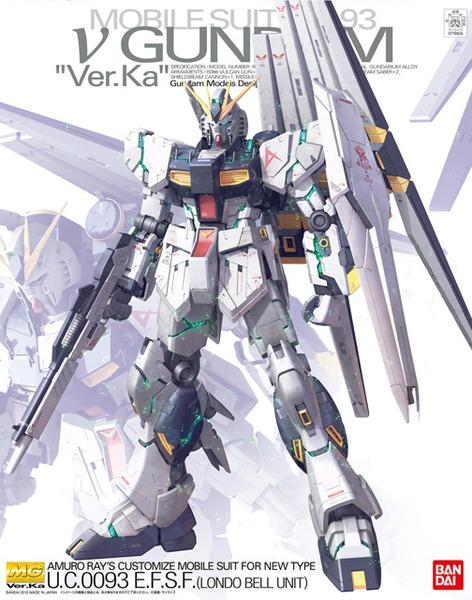 MG 1/100 Nu Gundam Ver.ka - Model Kit
