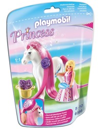Playmobil: Foil Bag - Princess Rosalie & Horse (6166)