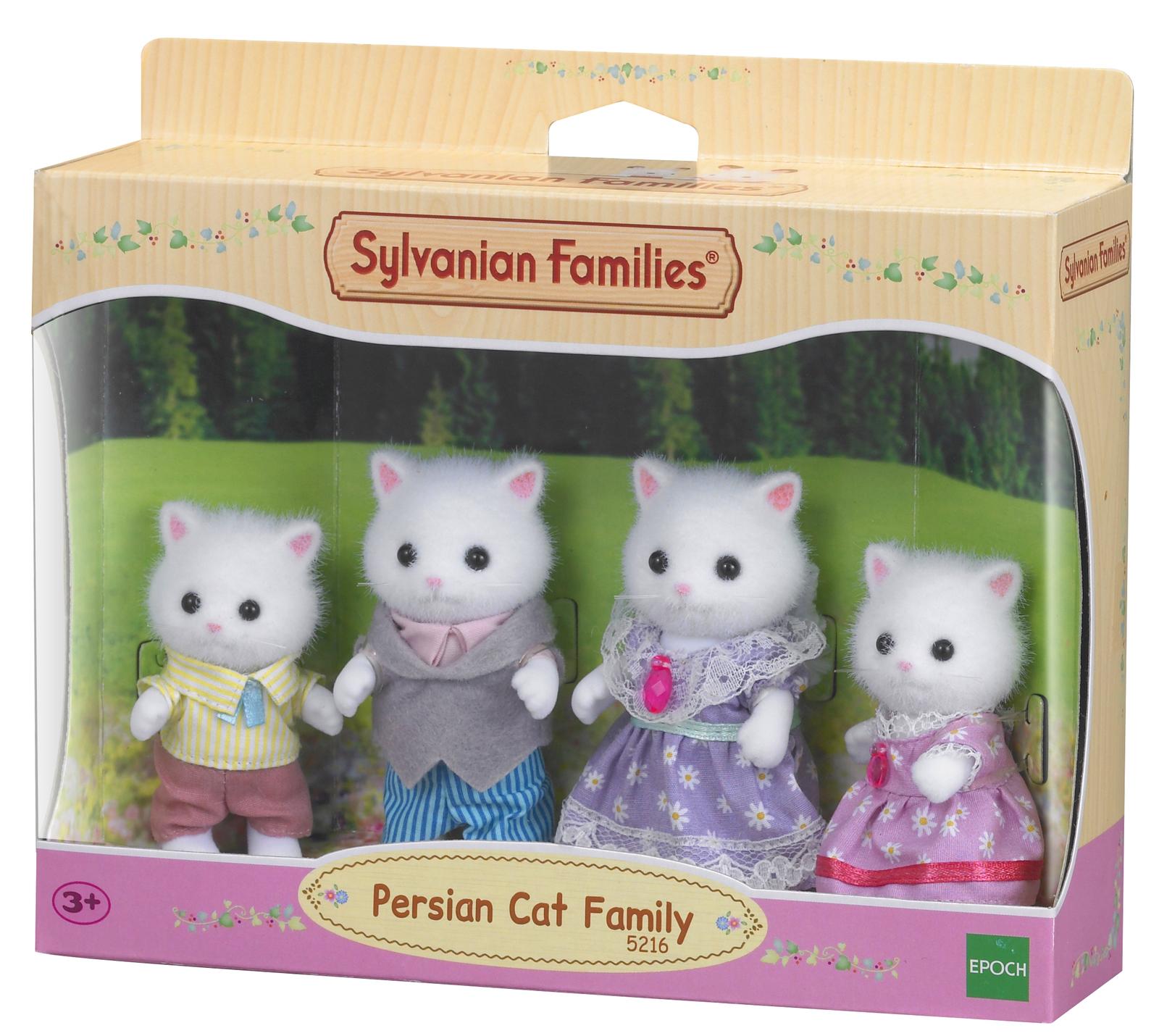 Sylvanian Families: Persian Cat Family image