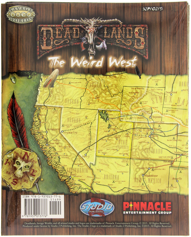 Deadlands California Map.Savage Worlds Rpg Deadlands Stone And A Hard Place Map At Mighty