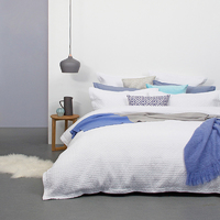 Bambury Queen Quilted Quilt Cover Set (Elise)