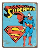 DC Comics: Superman - Retro Tin Sign