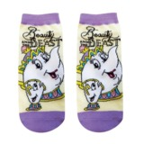 Disney: Mrs. Potts (Cream x Purple) - Ladies Socks