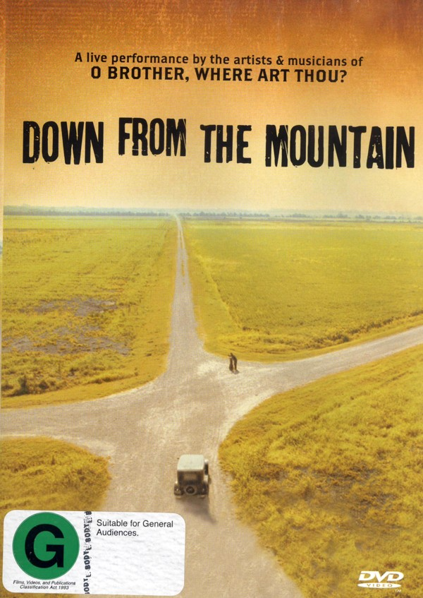 Down From The Mountain on DVD image