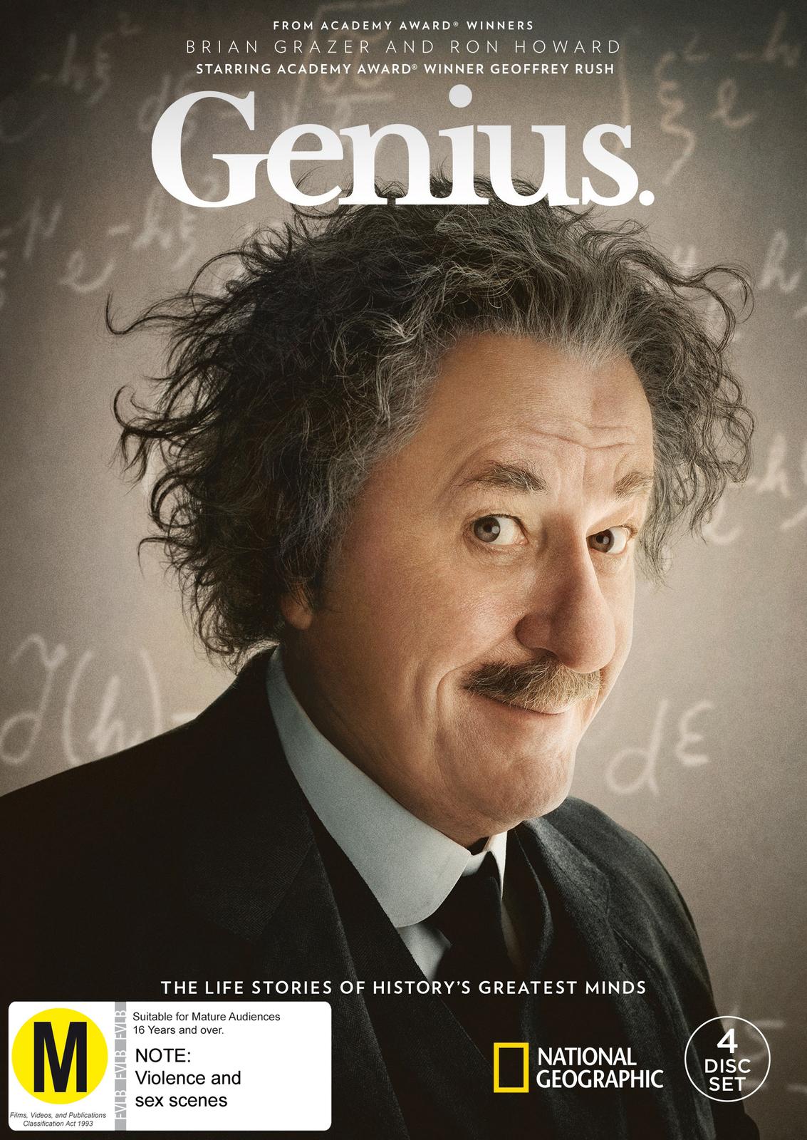 Genius - The Complete Season 1 on DVD image
