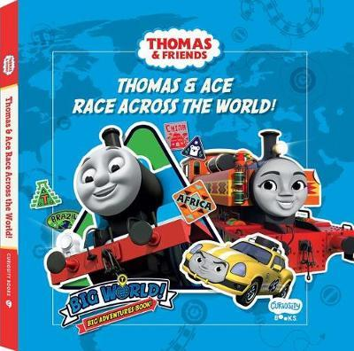 Thomas Thomas & Nia Race Across the World by Rebecca Matheson