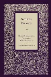 Nature's Religion by Robert S Corrington