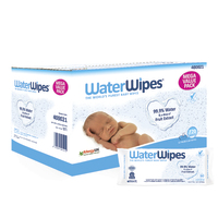 WaterWipes Baby Wipes Value Box (12 Pk - 720 Wipes) image