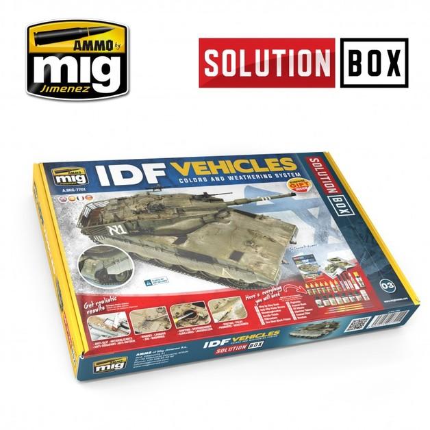 Ammo of Mig Jimenez Solution Box: IDF Vehicles