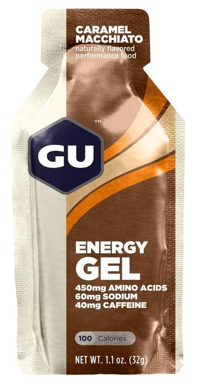 GU Energy Gel - Caramel Macchiato (32g) Single Serve