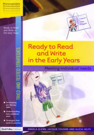 Ready to Read and Write in the Early Years by Angela Glenn image