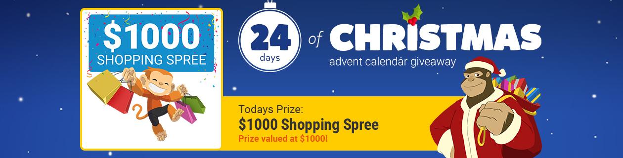 24 Days: $1000 Shopping Spree