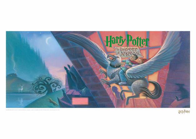 Harry Potter: Prisoner of Azkaban - Book Cover Artwork