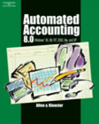 Automated Accounting 8.0 by Allen Warren image