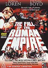 The Fall of the Roman Empire on DVD