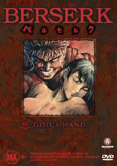 Berserk - V6 - Gods Hand on DVD