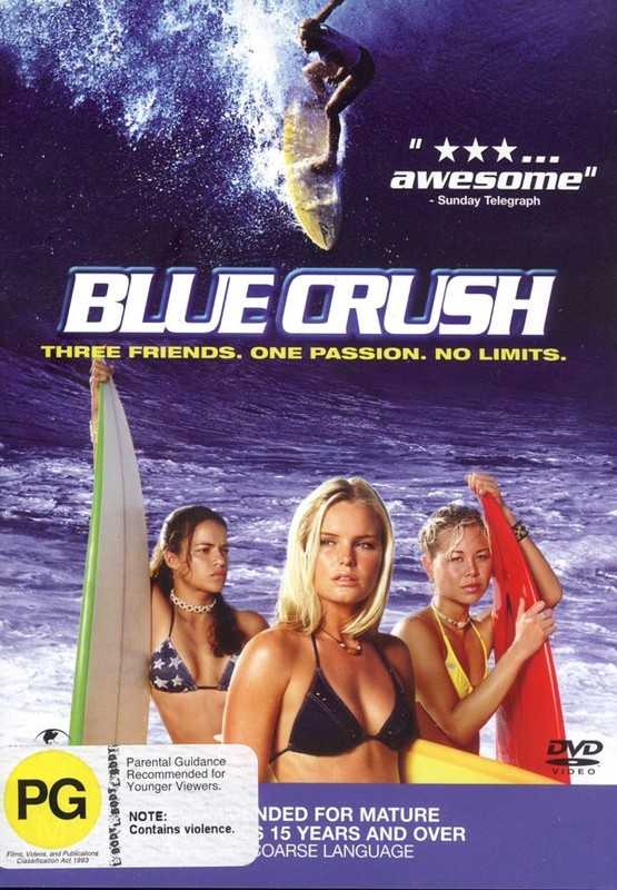Blue Crush on DVD