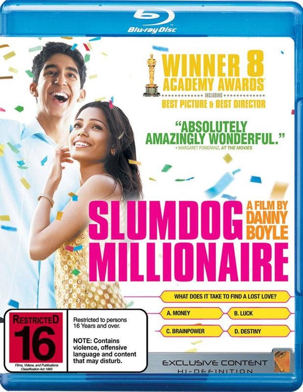 Slumdog Millionaire on Blu-ray