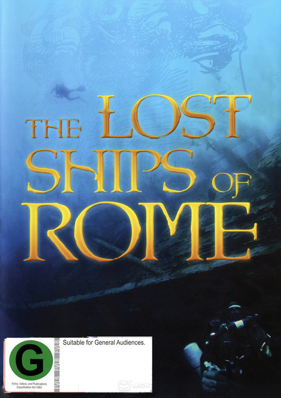 The Lost Ships of Rome on DVD