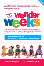 The Wonder Weeks by Frans X Plooij