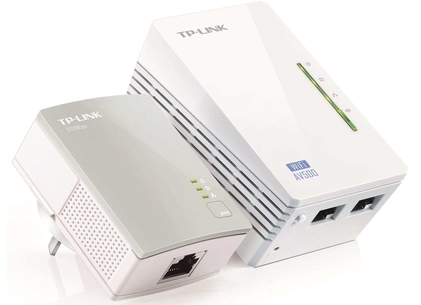 TP-Link AV600 WiFi Powerline Extender Starter Kit image