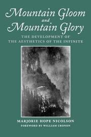 Mountain Gloom and Mountain Glory by Marjorie Hope Nicolson
