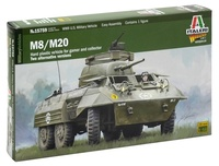 Italeri: 1:56 M8/M20 Armored Utility Car (Warlord Games) - Model Kit