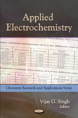 Applied Electrochemistry by Vijay G. Singh image