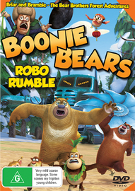 Boonie Bears Robo Rumble on DVD
