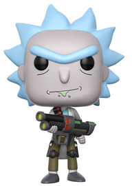 Rick & Morty – Weaponized Rick Pop! Vinyl Figure (with a chance for a Chase version!)