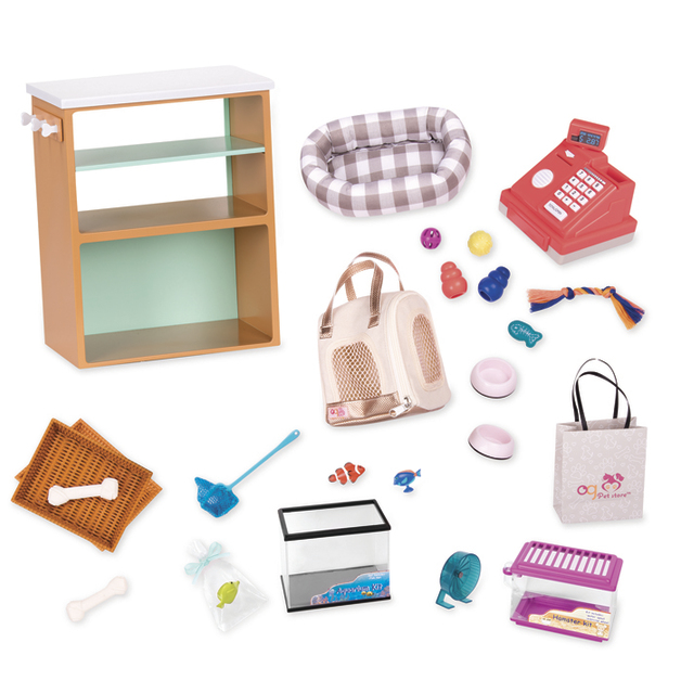 Our Generation: Deluxe Accessory Set - Pet Store