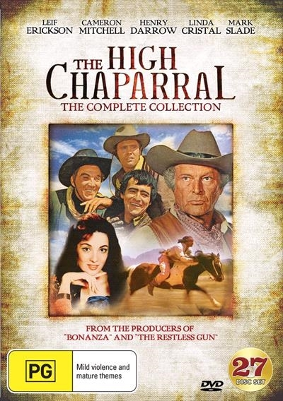 The High Chaparral The Complete Collection on DVD image