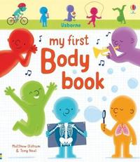 My First Body Book by Matthew Oldham image
