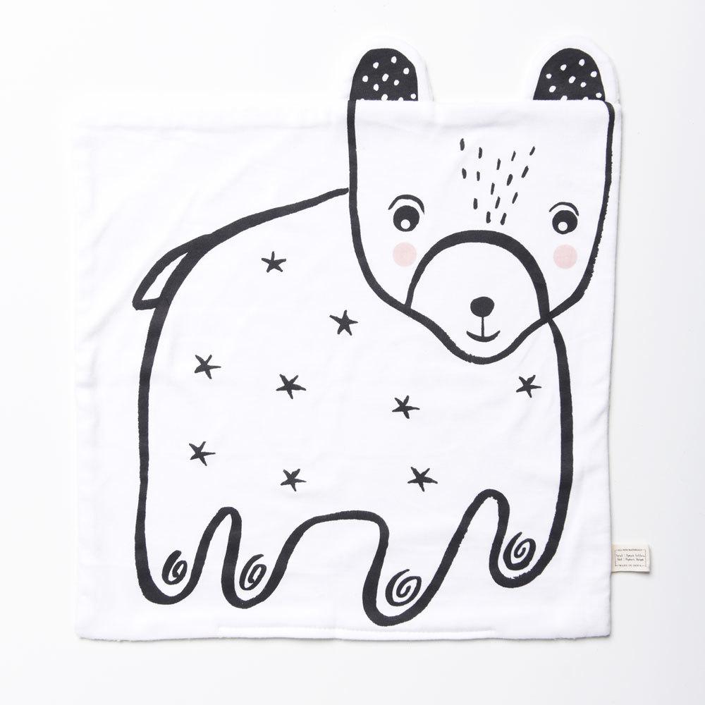 Wee Gallery: Organic Snuggle Blanket - Bear image