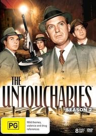 The Untouchables Season 2 on DVD
