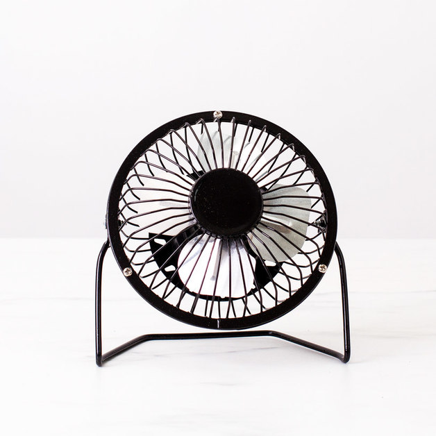 Easy Breezy Desk Fans (Black/Silver)