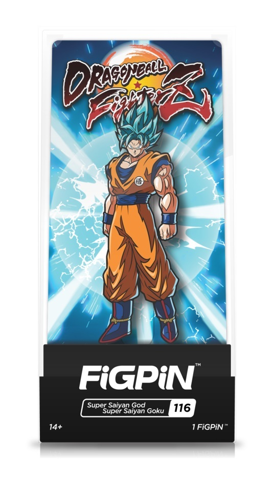 Dragon Ball FighterZ: SSGSS Goku (#116) - Collectors FIGPiN image