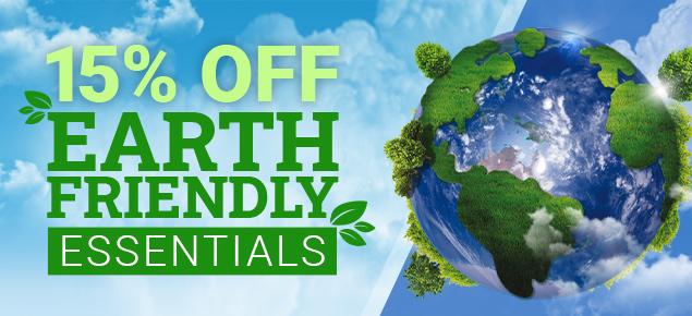 15% off Eco-Friendly Essentials!