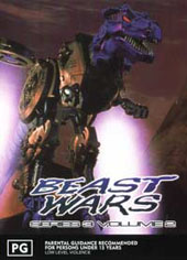 Beast Wars 2 (3rd Series) on DVD