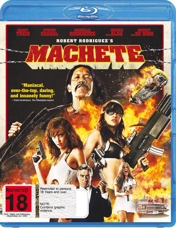 Machete on Blu-ray