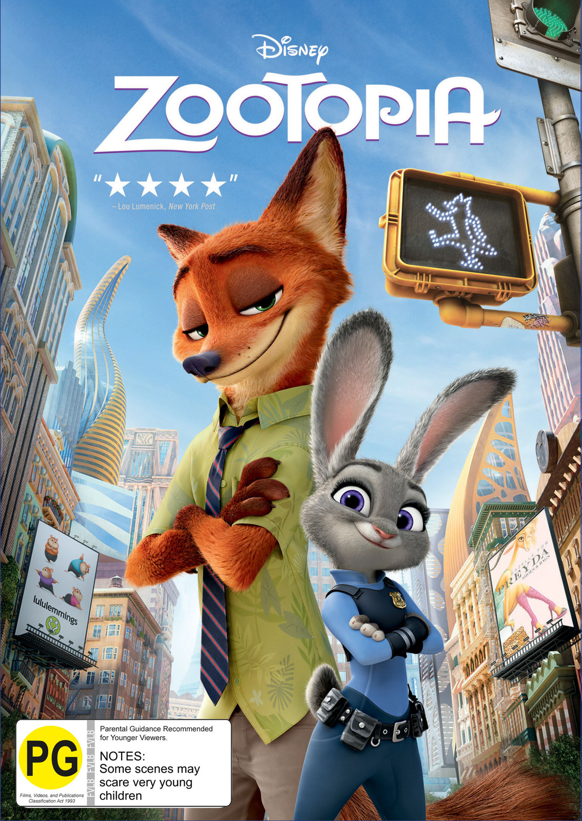 Zootopia on DVD image