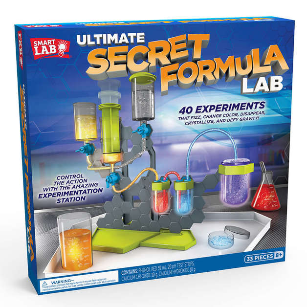 SmartLab: Ultimate Secret Formula Lab
