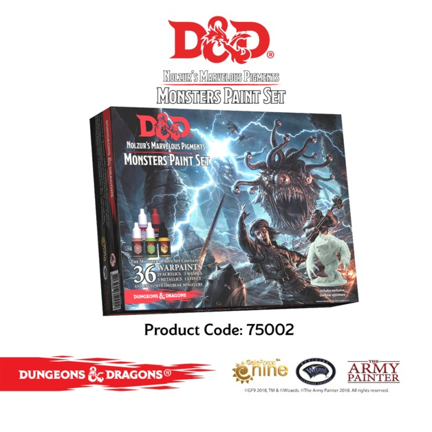 Army Painter D&D Monsters Paint Set