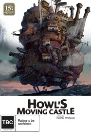 Howl's Moving Castle 15th Anniversary Limited Edition (Blu-ray & DVD Combo With Artbook) on DVD, Blu-ray